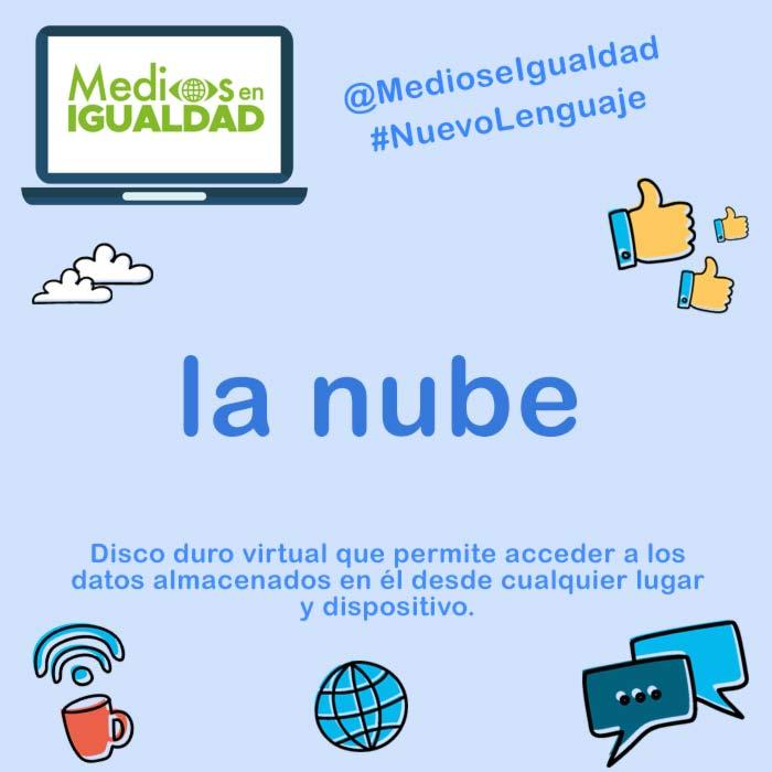 Nuevo Lenguaje - nube