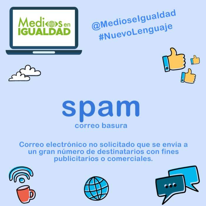 Nuevo Lenguaje - Spam
